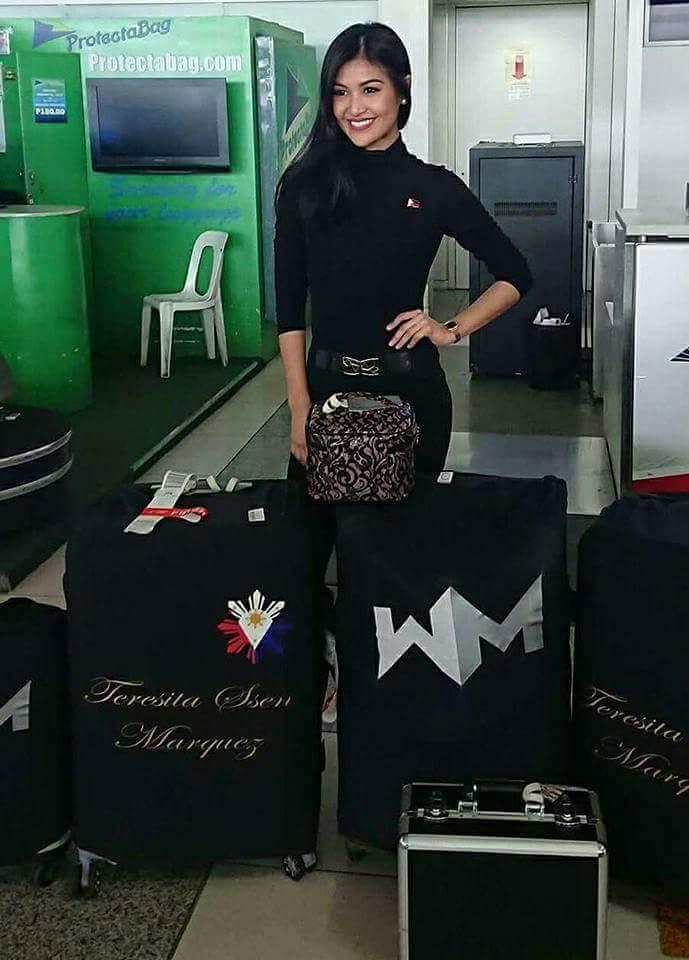 Road to Reina Hispanoamericana 2017 is WynWyn Marquez of the Philippines Fb_im264