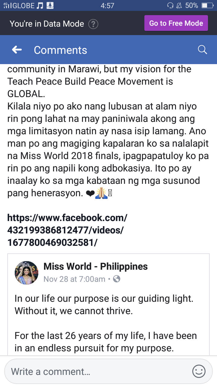 ✪✪✪ MISS WORLD 2018 - COMPLETE COVERAGE  ✪✪✪ - Page 29 Screen12
