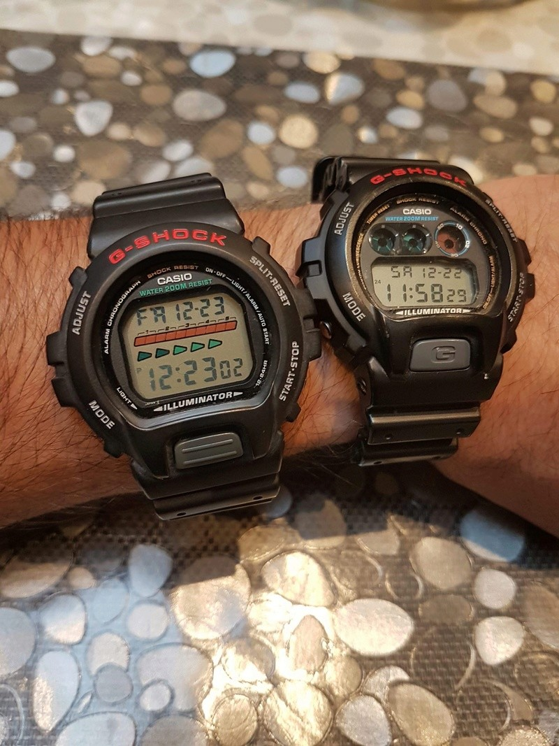 collection - Ma petite collection de « G-Shock «  61ccff10