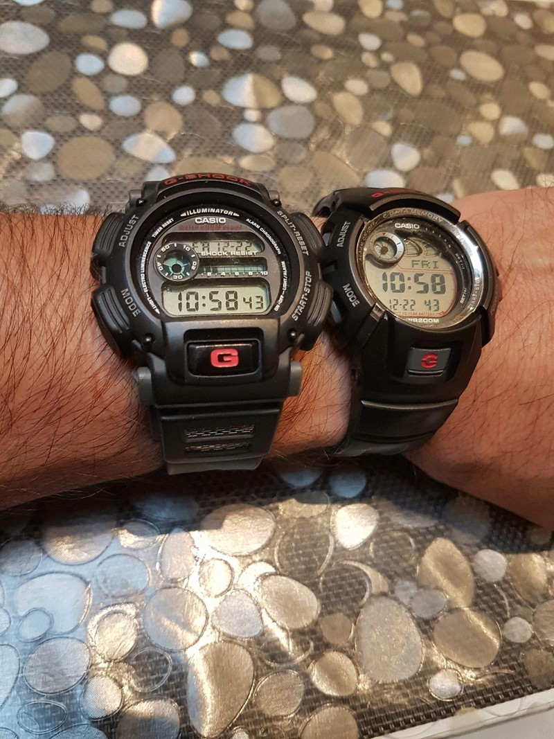 collection - Ma petite collection de « G-Shock «  8f976010