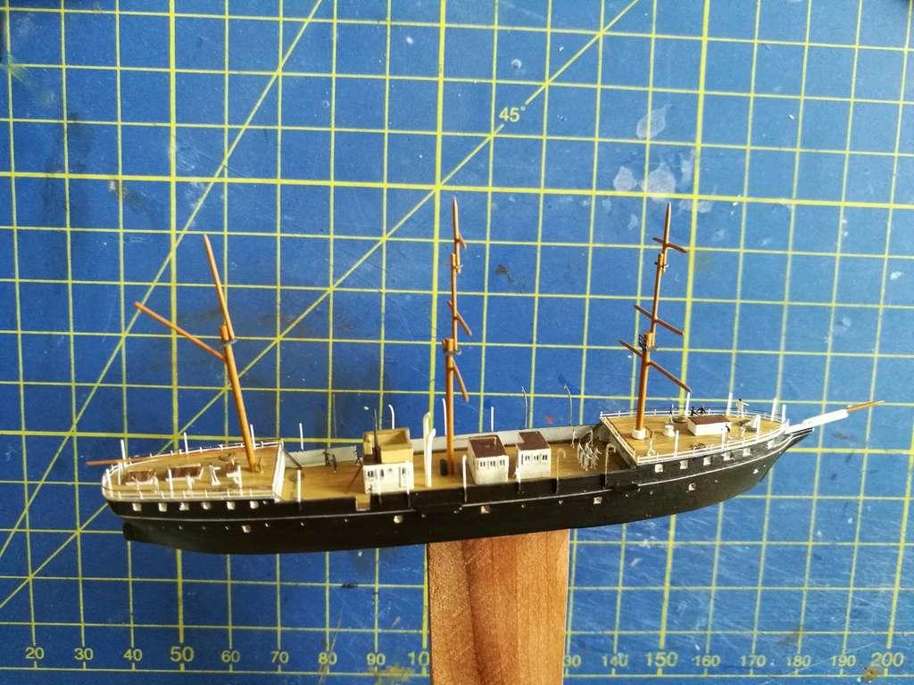 barges et petits bateaux de Brest 1/600 scratch Img_2051