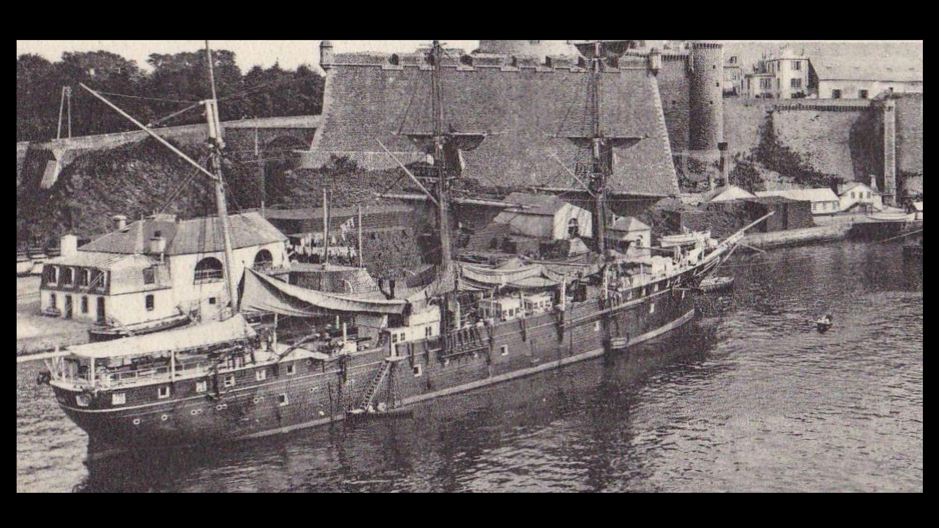 barges et petits bateaux de Brest 1/600 scratch Sayne111