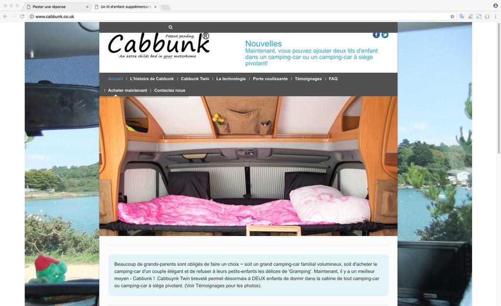 Installation et présentation du Cabbunk - lit d'appoint de cabine - Page 3 Chrome11