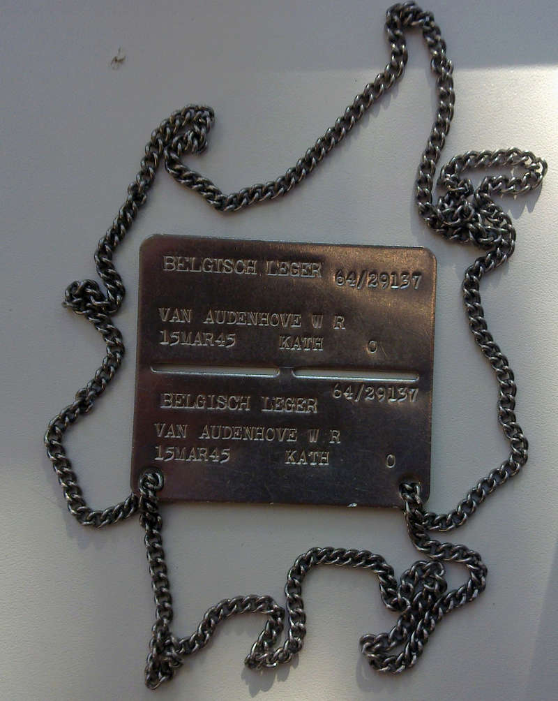 Belgian dog-tag of the year 1964 30042010