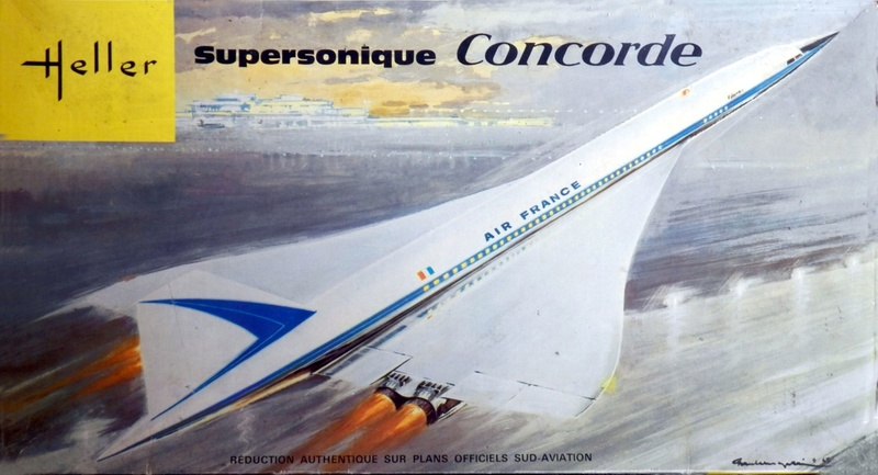 SUD AVIATION - BRITISH AIRCRAFT CORPORATION  CONCORDE AIR FRANCE Réf 52903 Concor10