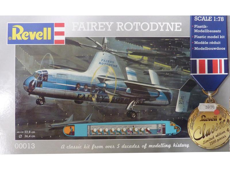 montage d'un Fairey rotodyne 1/78 Revell - Page 2 Fairey10
