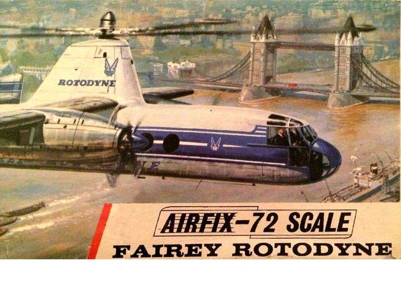 montage d'un Fairey rotodyne 1/78 Revell - Page 2 Fairey12