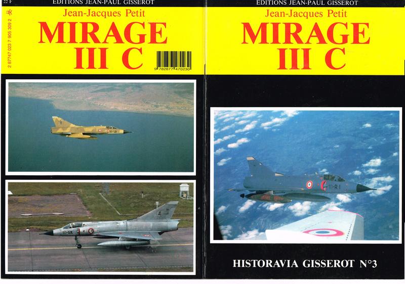 Livret monographie sur le DASSAULT MIRAGE III C (annonce terminée le livret  à été adopté ) Livret11