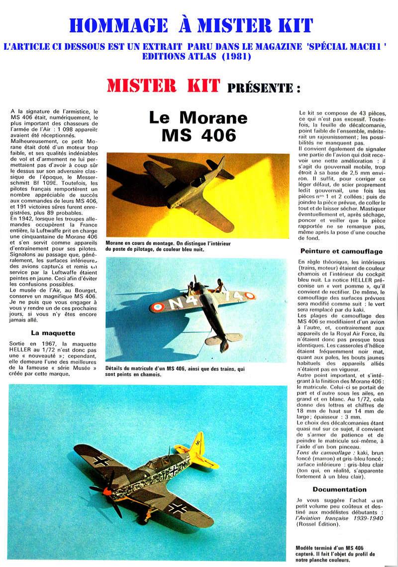 rubrique hommage  à Mister Kit  Morane11