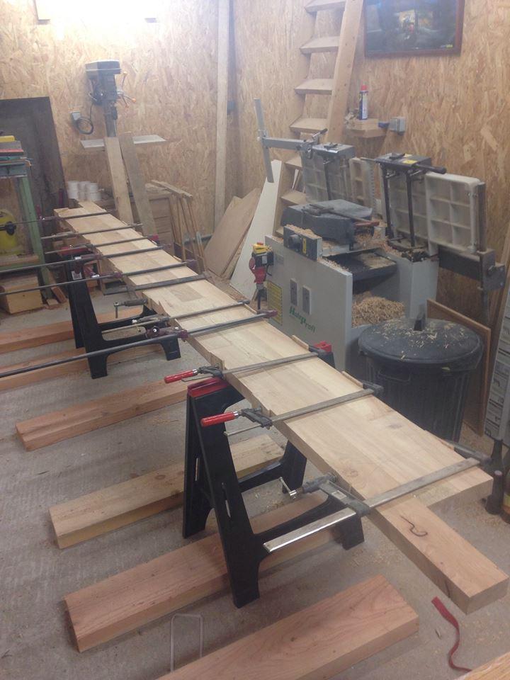 Nouvelle maison, nouveau atelier, nouvelles machines, récap' d'1 an de boulot - Page 2 Serrag10