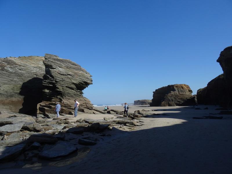 Playa de las catedrales Dsc04212