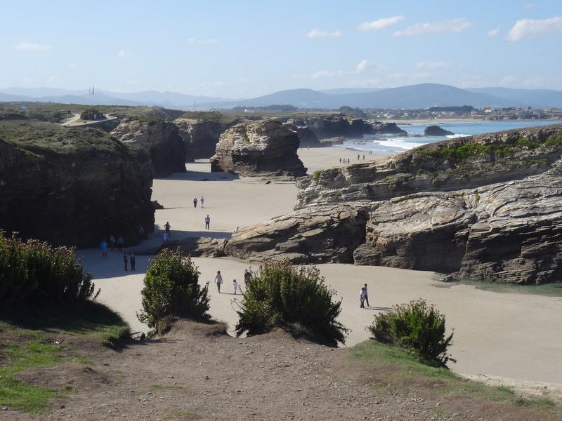 Playa de las catedrales Dsc04215