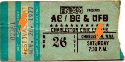 1977 / 11 / 26 - USA, Charleston, Civic Center 26_11_10