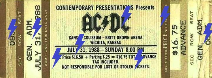1988 / 07 / 31 - USA, Wichita, Kansas Coliseum 31_07_11