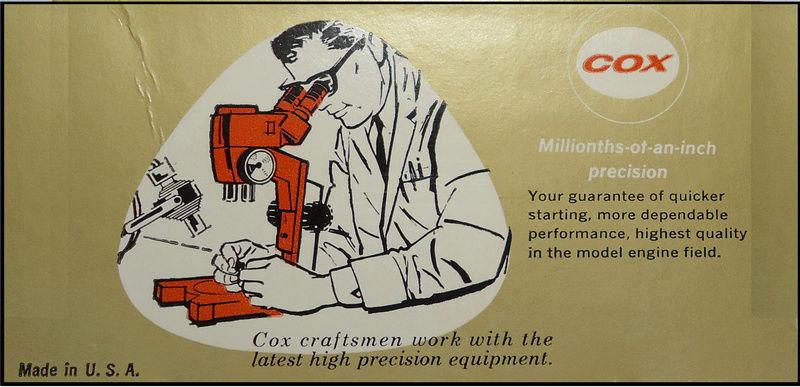 Cox Strato Bug Insert Reproduction Carton11