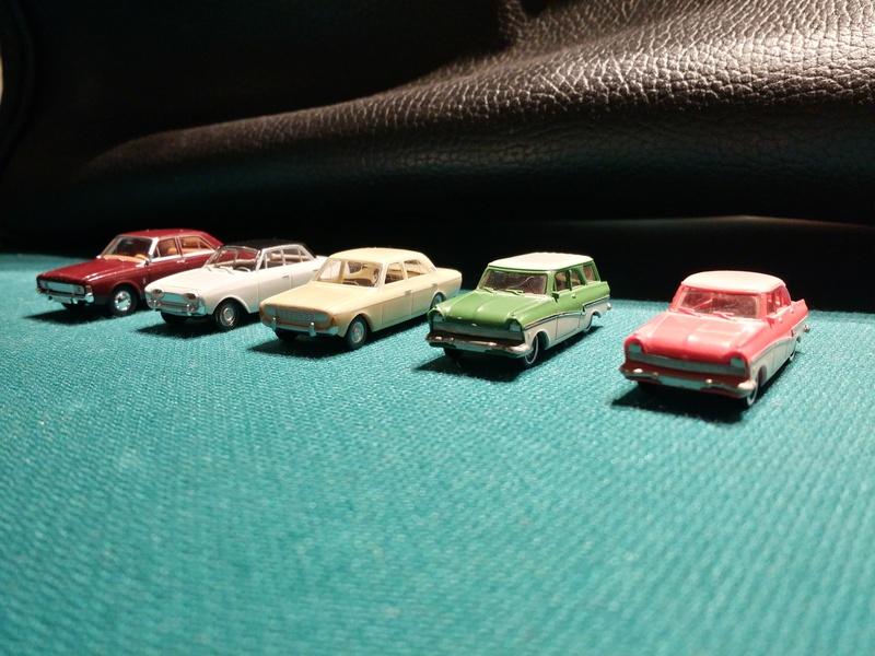 Ford Modelbiler 20161015