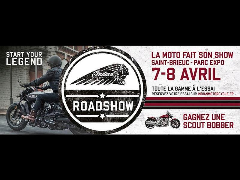 ROAD SHOW INDIAN à St Brieuc avec Breizh Riders Image16