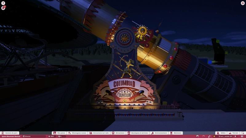 [Planet Coaster] Discovery Mountain - Au-delà du Soleil (Space Mountain) 20171225