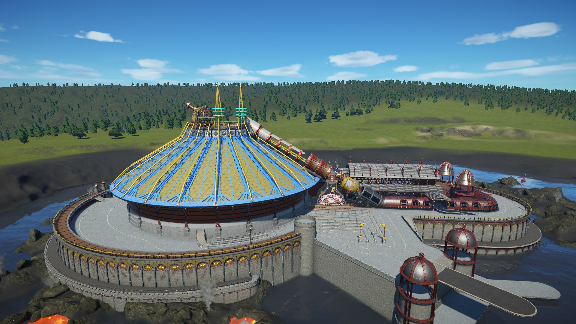 [Planet Coaster] Discovery Mountain - Au-delà du Soleil (Space Mountain) - Page 3 20180522