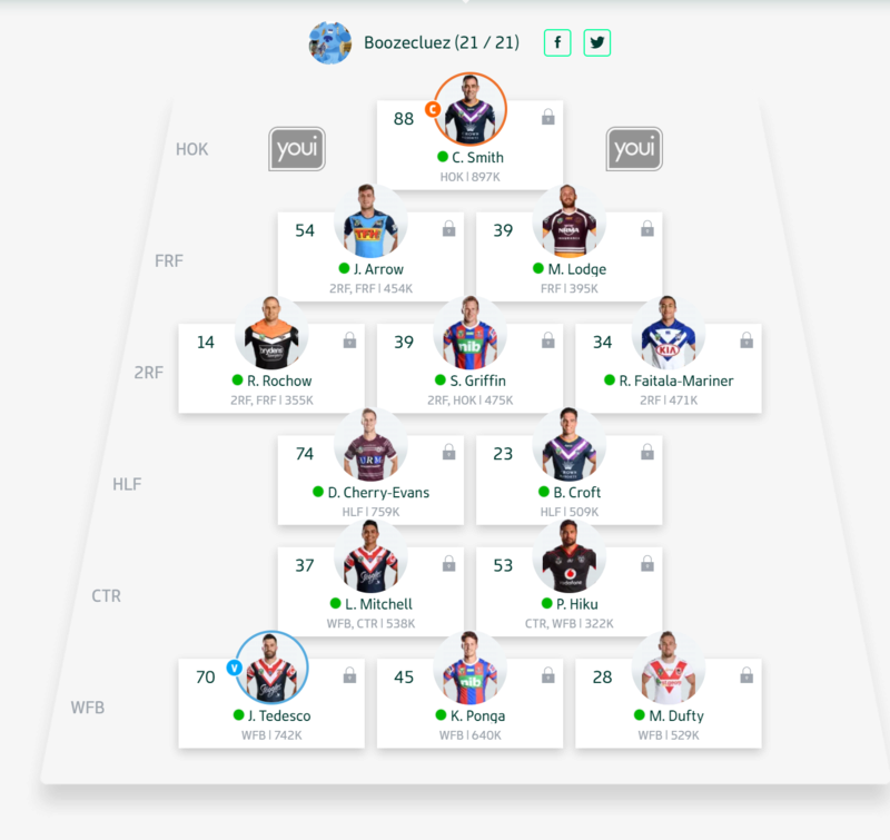 Trials and Tribulations of an NRL Fantasy coach 2018 - End result 164th - Page 2 Round_10