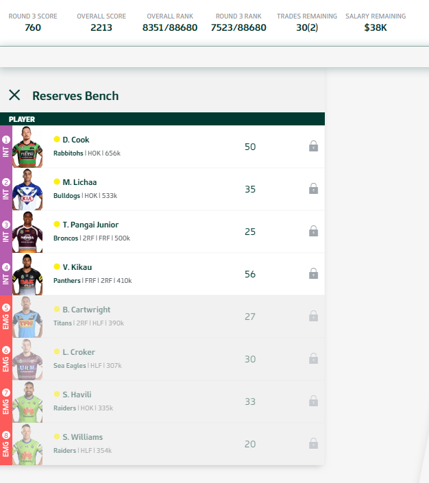Trials and Tribulations of an NRL Fantasy coach 2018 - End result 164th - Page 3 Round_14