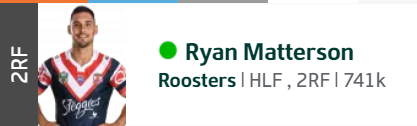 Trials and Tribulations of an NRL Fantasy coach 2018 - End result 164th - Page 5 Ryan_m11