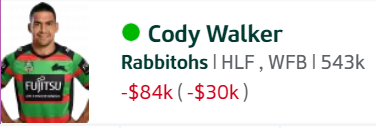 Trials and Tribulations of an NRL Fantasy coach 2018 - End result 164th - Page 8 Walker10