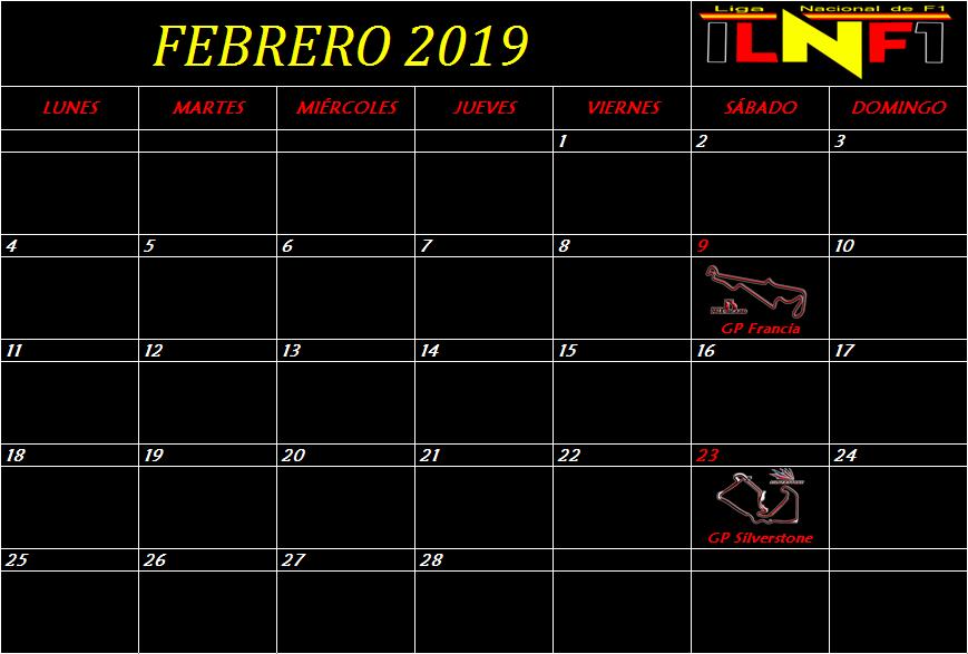Calendario Febrer10