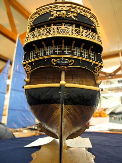 l'Alexandre vaisseau de 64 canon au 1/48 plan ancre Alexan10