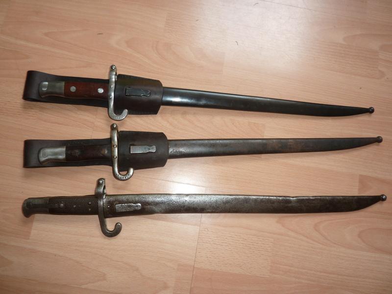 QQ baionnettes  Austro- Hongrois Mannlicher  M1885 et Werndl 1870/73 1885_012