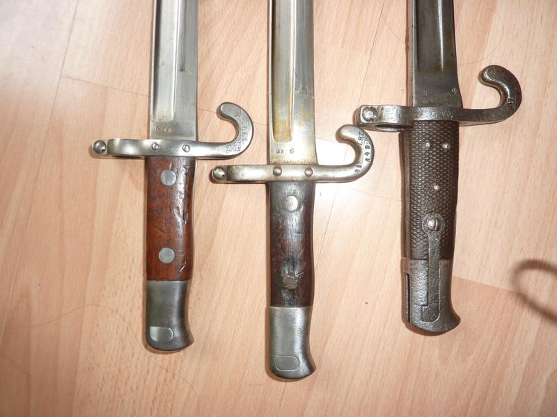 QQ baionnettes  Austro- Hongrois Mannlicher  M1885 et Werndl 1870/73 1885_014