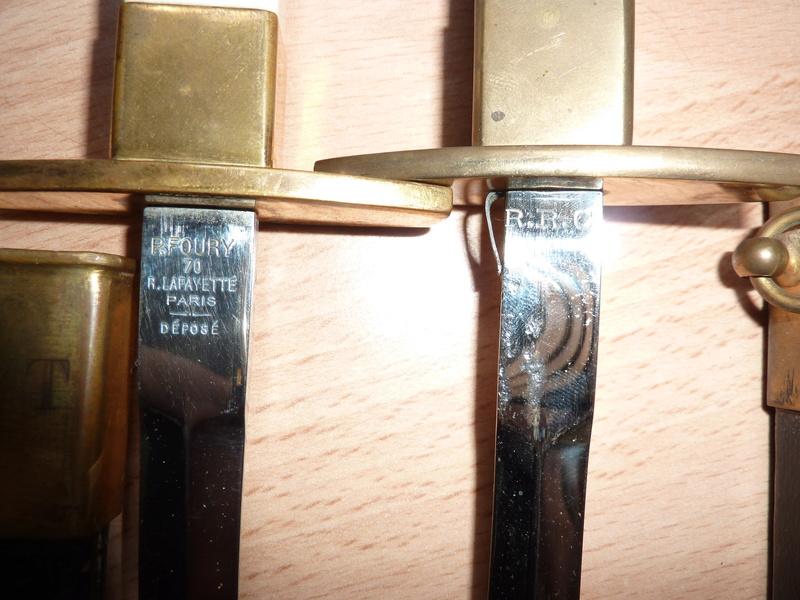 Dague  de l'armée d'air  Française Mdl 1934 Dagues11