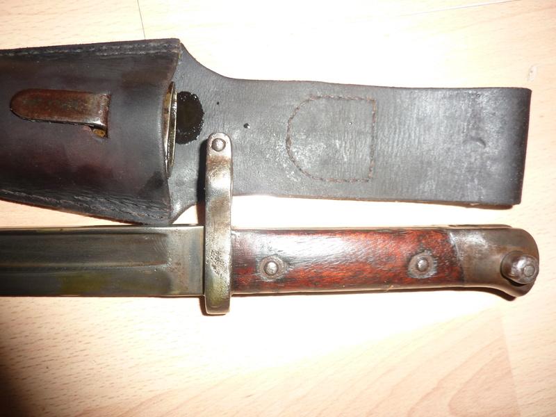 Baionnette  Steyr 1888 Autrichienne pour le SIAM type 33 Iiq_0011
