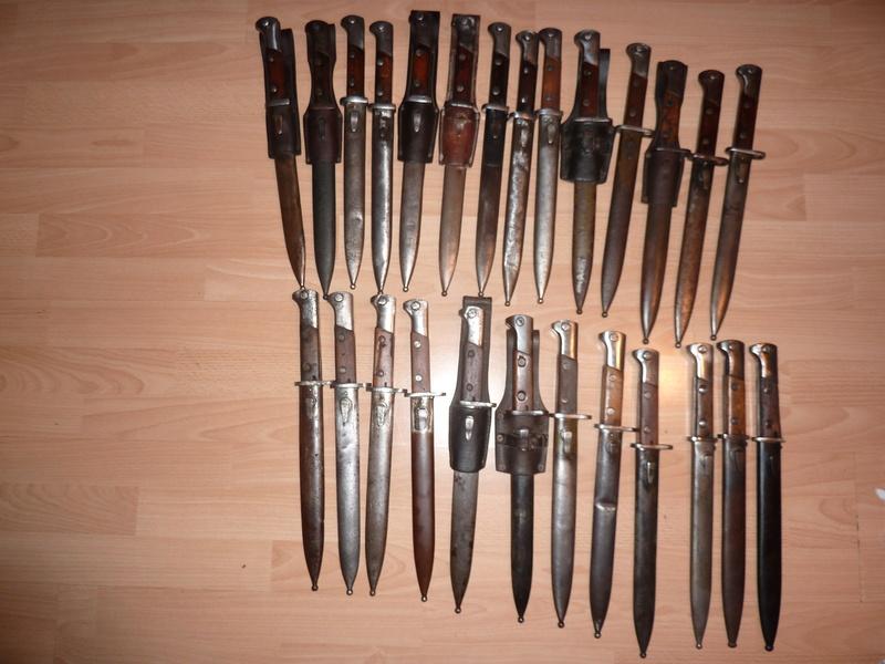 Baionnettes Mauser Pologne Pologn19