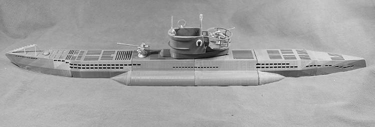 Contrairement à ce que disait Patrice le U-625 est toujours sur les listes de la Kriegsmarine Sub110