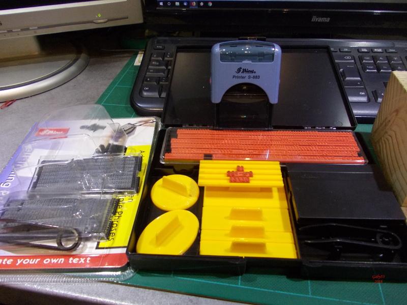 Imprimante pour douilles Tampon12