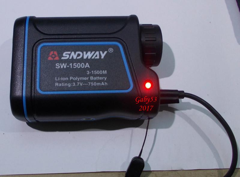 Télémètre SNDWAY 1500 Tele210