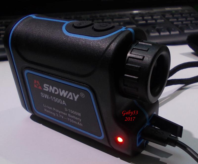 Télémètre SNDWAY 1500 Tele410