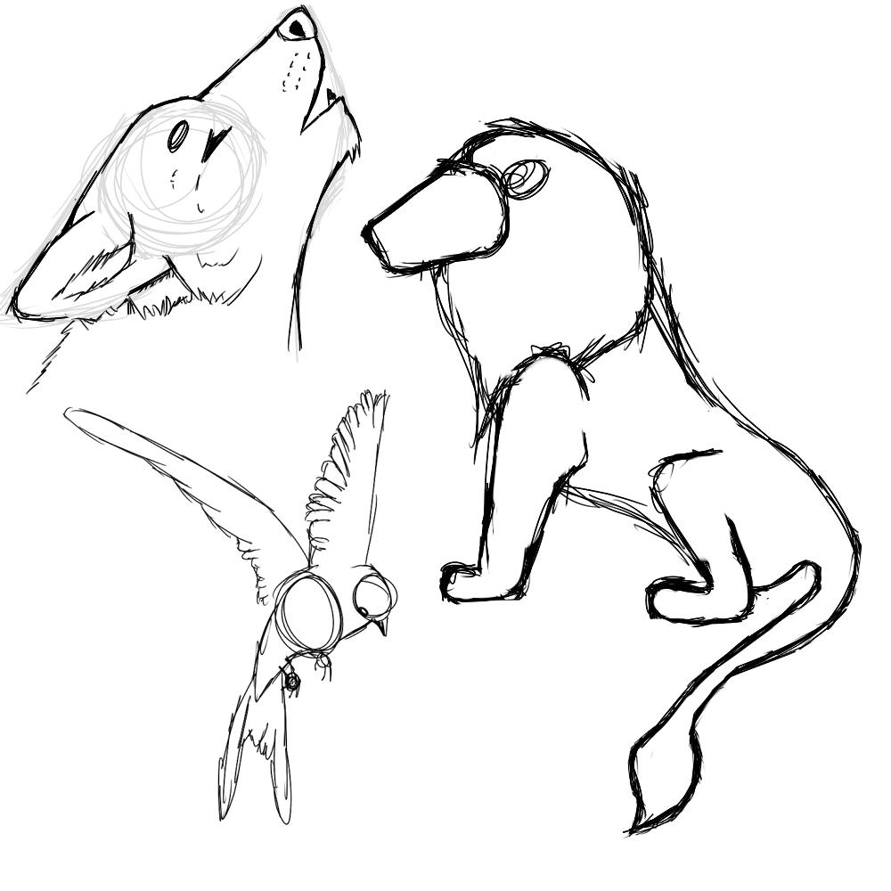 My weird scribbles Animal10