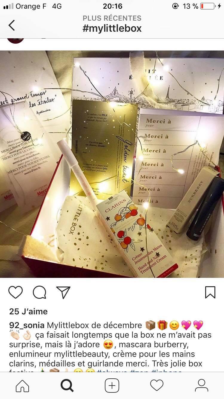 """[Décembre 2017] My Little Box """"Nuit Étoilée Box"""" 24740110"""