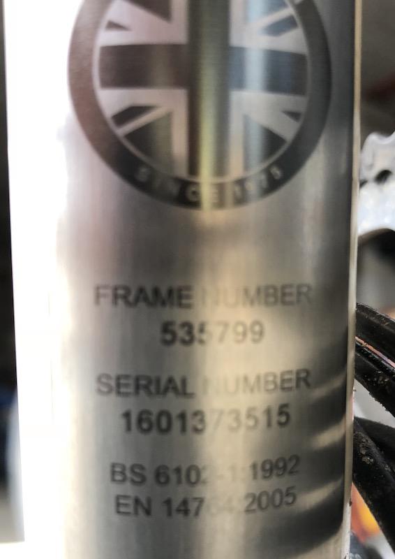 [VENDU] P6R amélioré à vendre cause nouveau Brompton de société  Cadre-10