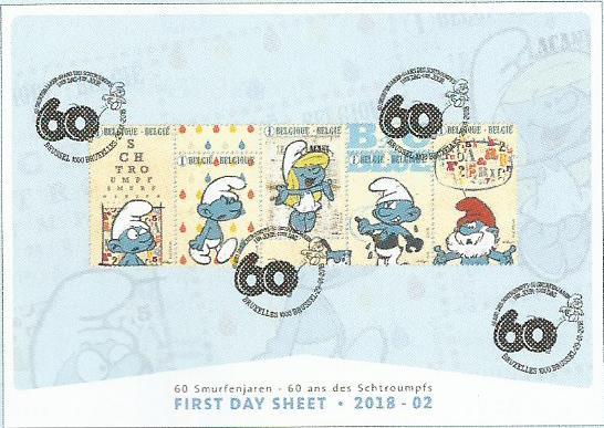 60 ans des petits bonhommes bleus Smurf_12