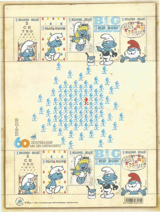 60 ans des petits bonhommes bleus Smurf_13