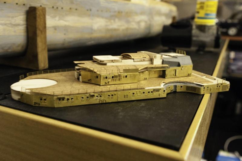 Construire le Bismarck 1/200 Hachette - Page 2 2017-015