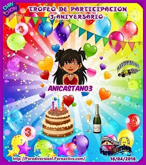 TROFEOS DE PARTICIPACION DE 3º ANIVERSARIO DE FORODIVERSION  Anicas11