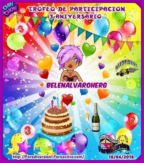 TROFEOS DE PARTICIPACION DE 3º ANIVERSARIO DE FORODIVERSION  Belena11