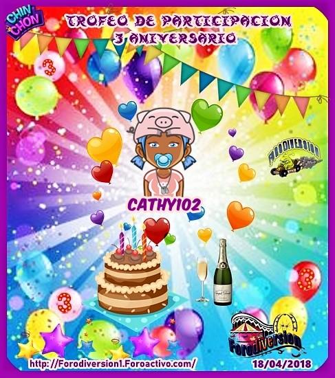 TROFEOS DE PARTICIPACION DE 3º ANIVERSARIO DE FORODIVERSION  Cathy110
