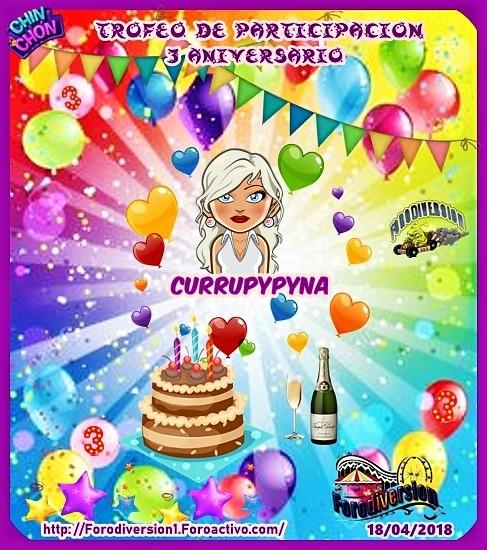 TROFEOS DE PARTICIPACION DE 3º ANIVERSARIO DE FORODIVERSION  Currup10