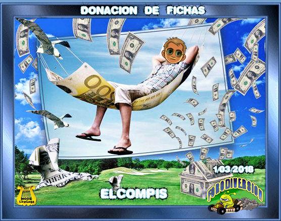 DONACION DE FICHAS 1.03.2018 DE ELCOMPIS Donaci22