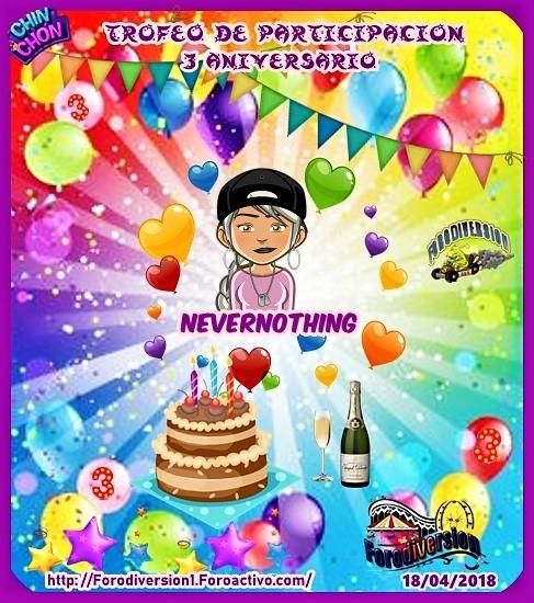 TROFEOS DE PARTICIPACION DE 3º ANIVERSARIO DE FORODIVERSION  Nevern10